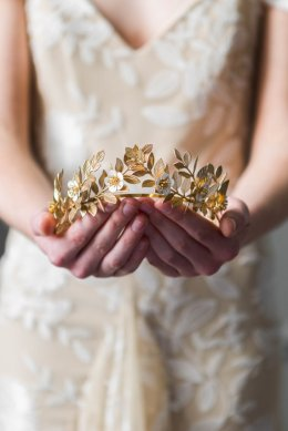 Laurel Leaf Flower Crown