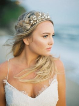 Crystal Leaf Tiara